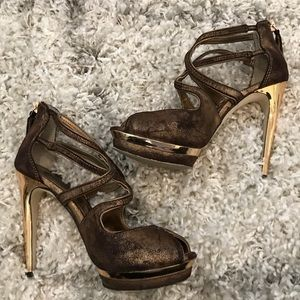 BCBGMaxAzria - Rose Gold - Heels